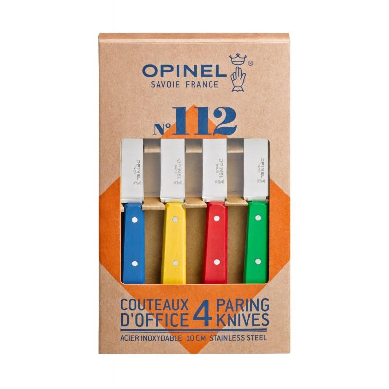 Coffret de 4 couteaux N°112 couleurs classiques