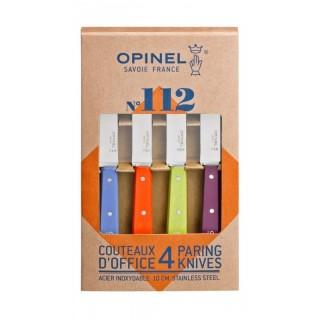 Coffret de 4 couteaux N°112 couleurs acidulées
