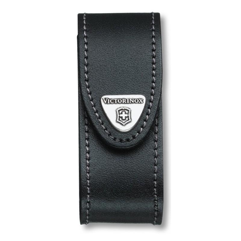 Etui Victorinox 6 A 14 pièces cuir noir